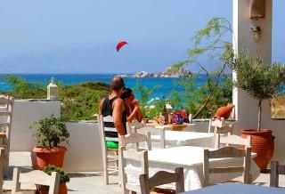 kontos restaurant naxos view