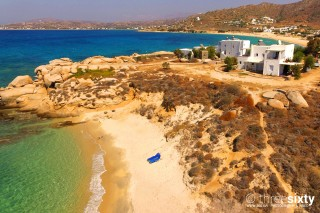 beach near kontos in naxos